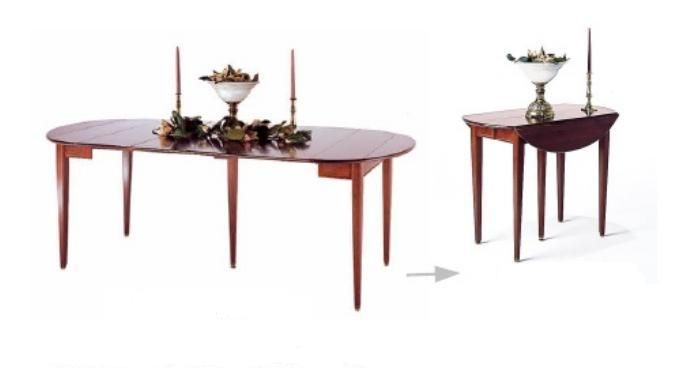 cherry dining table pembroke